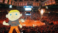 UT basketball game