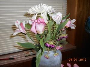 Gift of a flower arrangement