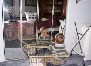 mirror and child (C)