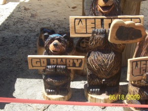 Humorous carving