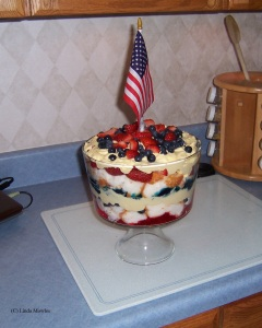 Patriotic Trifle