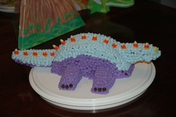 Birthday cake - dinosaur