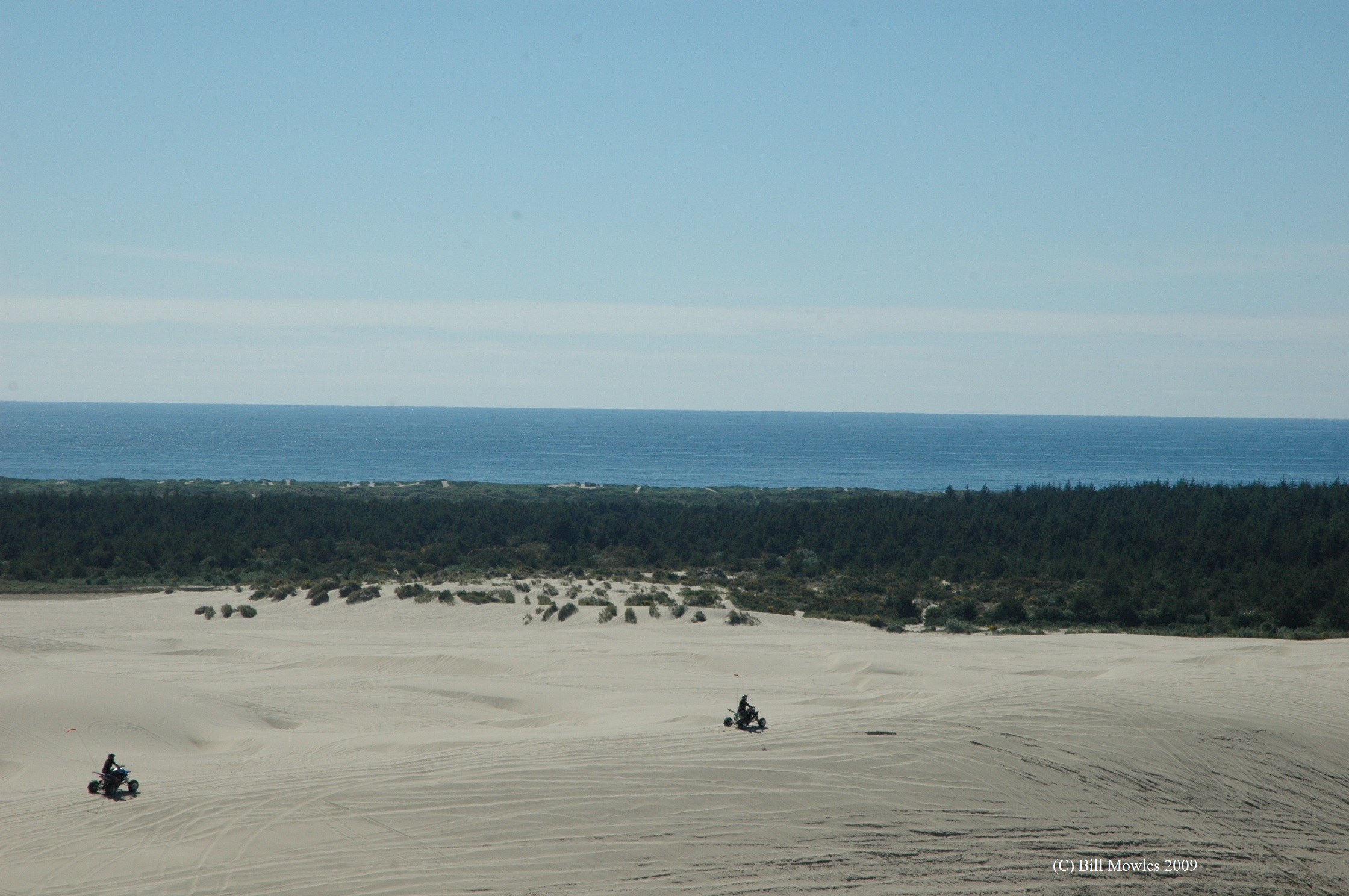 Sand Dunes Coos Bay Bridge