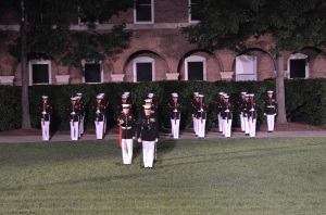 U.S. Marines at the Barracks, Washington D. C.