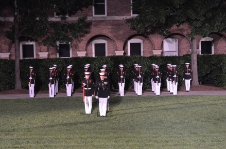 U.S. Marines at the Barracks, Washington D. C.
