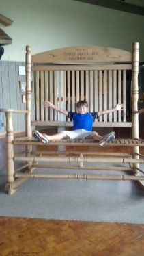 Huge Rocking Chair at Mississippi Agriculture and Forestry Museum
