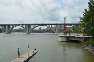 Henley Street Bridge in Knoxville