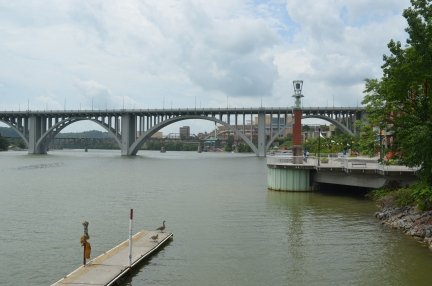 Henley Street Bridge in Knoxville