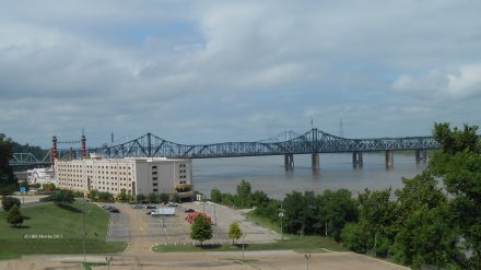 Bridge over the Mississippi River at Vicksburg