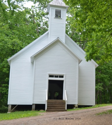 Church in Cades Cove, Smoky Mountain National Park, Tennessee