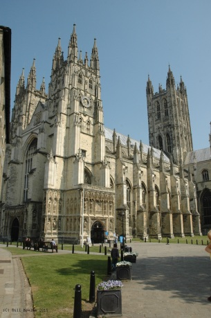 Canterbury Cathedral where there have been worship services for over 1400 years!