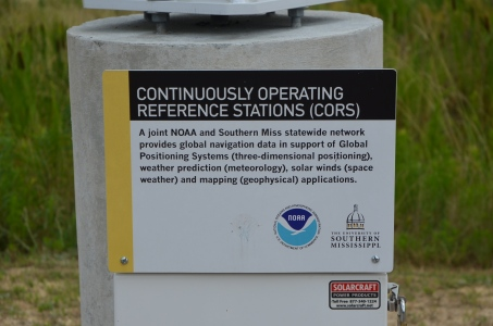 NOAA GPS informational marker