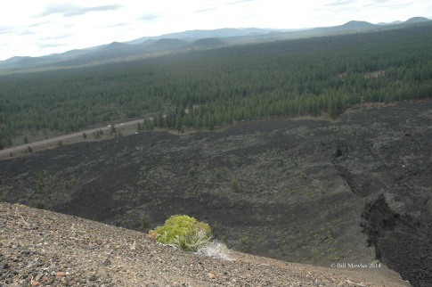 Lava Butte Lookout - cinder cone crater, Bend Oregon
