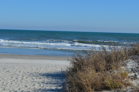 Coastline at Myrtle Beach, South Carollina