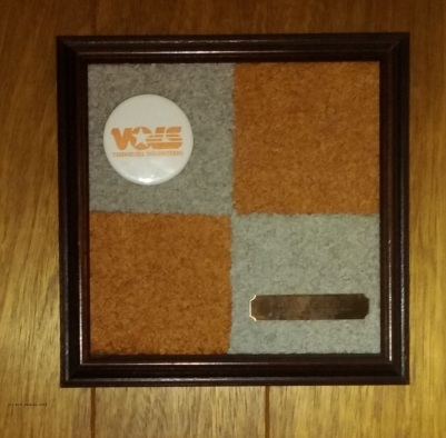 Piece of the end zone turf, University of Tennessee