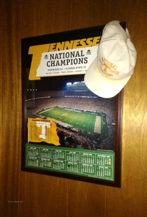 National Championship Poster for University of Tennessee