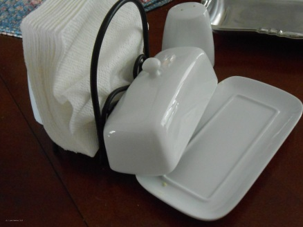 The Butter Dish -- licked clean.