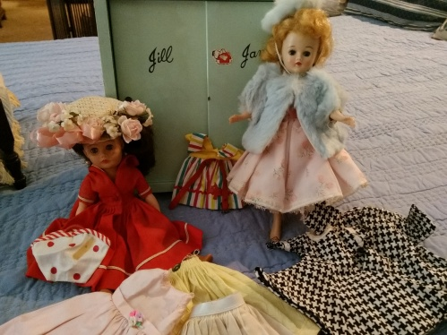 Doll wardrobe and clothes