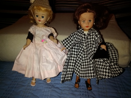 Jan and Jill, vintage friends for a young girl