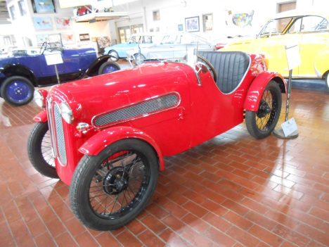 1929 BMW IHLE-600 at the Lane Motor Museum, Nashville, TN.