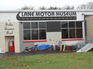 Lane Motor Museum building, Nashville, Tennessee.