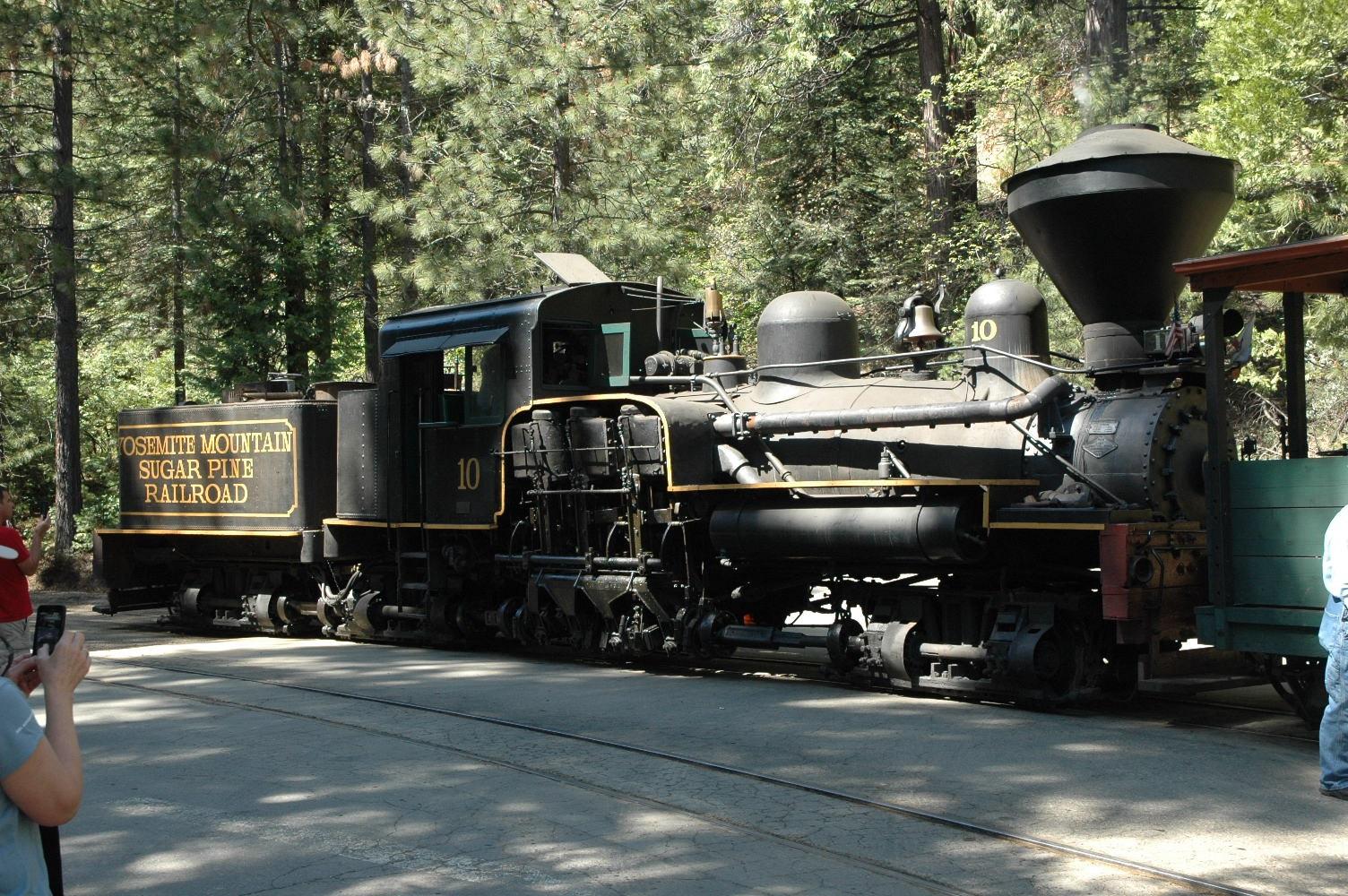 Yosemite 2011 Sugar Pine Railroad Train (C)