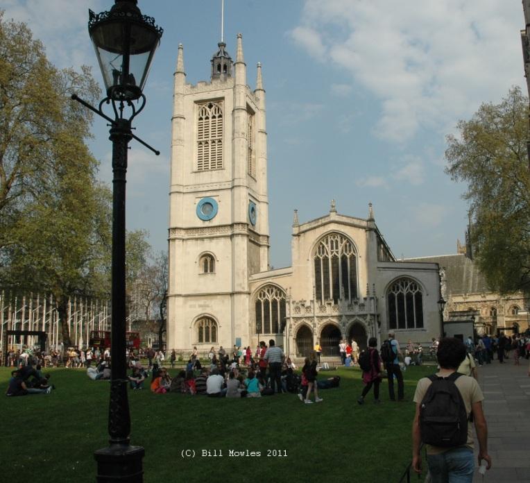 Church - St Margarets church in London (C)