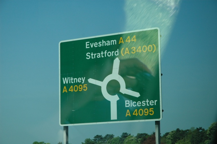 Road signs in England
