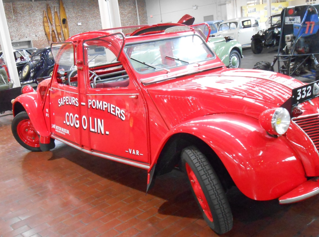 Firemen's vehicle, Cogolin, France.