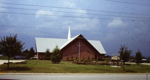 Church in neighborhood