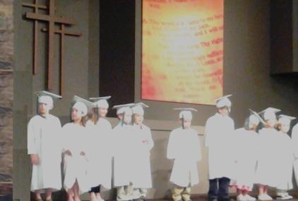 graduation from kindergarten