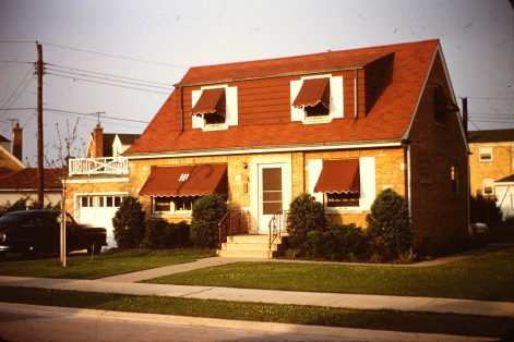 Childhood home on Olympia Street '59
