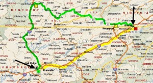 map-showing-elongated-trip