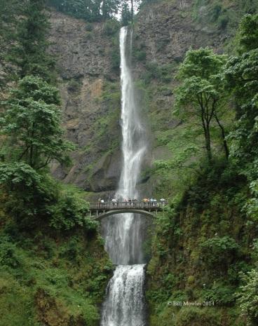 Oregon 2009 066 (C) Multnomah Waterfalls