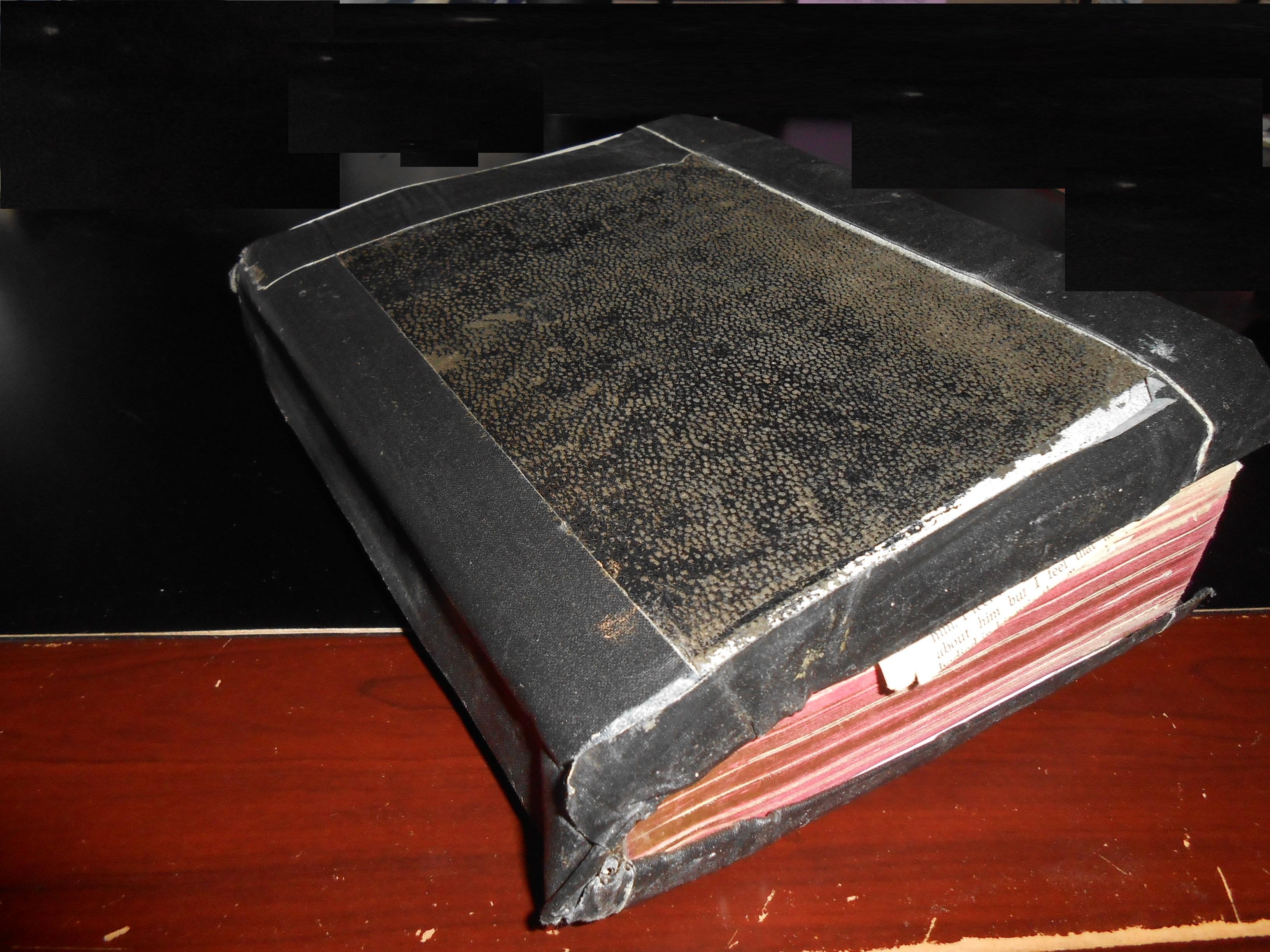 Bible - Uncle Ed's worn Bible