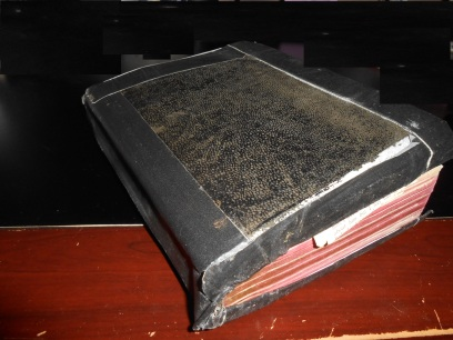 Bible - Uncle Ed's worn Bible