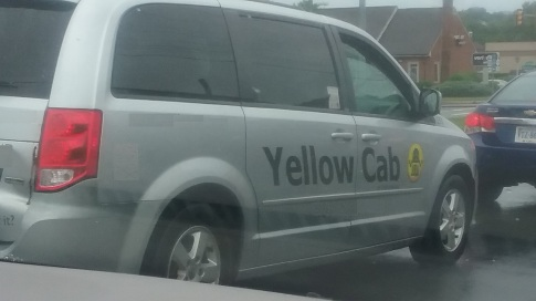Yellow cab in Virginia