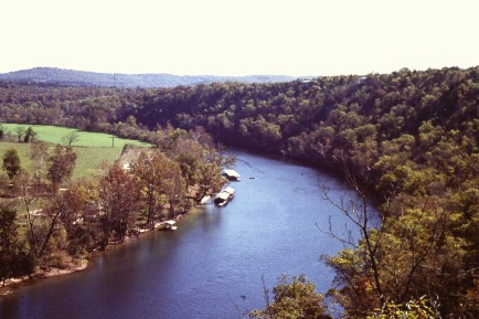 Ozark Mountain River