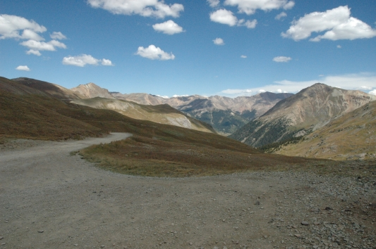 Colorado cinnamon pass over 12000 feet high