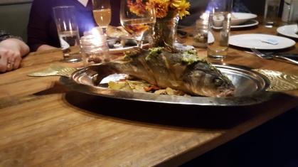 Fish at Dancing Bear Lodge