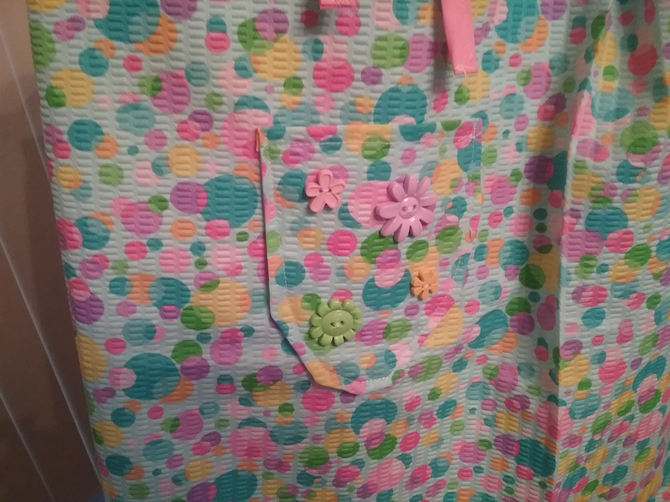 3rd Homes of Love dress - decorated pocket