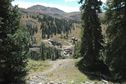 abandoned camp high in Colorado mountains 2