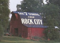 Rock City barn