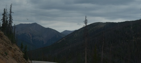 descending from monarch pass