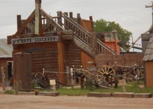 Fort Hayes stockade